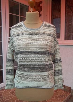 (46/48 р) dunnes новая свитер кофта джемпер полувер