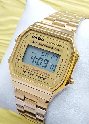 """Наручные часы """"old school style"""" премиум качества в золотом цвете"""