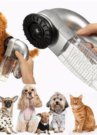 Машинка для стрижки и вычесывания шерсти животных SHED PAL.