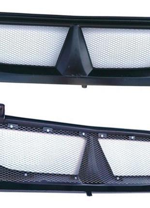 Решетка радиатора на Заз 1102 Таврия маска пластик
