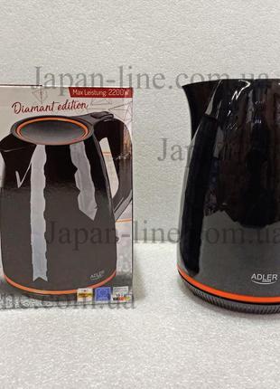Чайник электрический Adler AD-1277 black 1.7 л