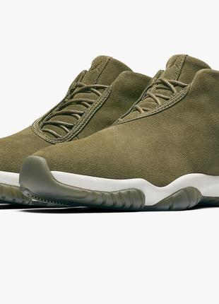 Кроссовки Nike Air Jordan Future Leather Olive оригинал новые!