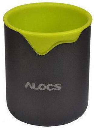 Термокружка Alocs TW-406 (0.3л), зеленая