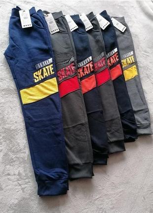 Утепленные спортивные брюки street skate