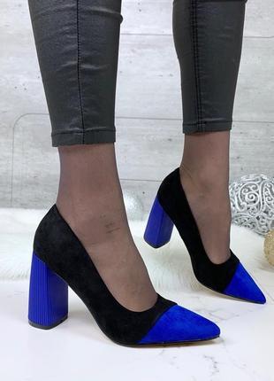 ❤ женские черные туфли на каблуке ❤