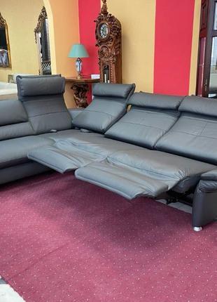 Новый кожаный диван мягкая мебель шкіряний диван диван реклайнер