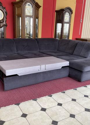 Угловой диван реклайнер мягкая мебель Германия