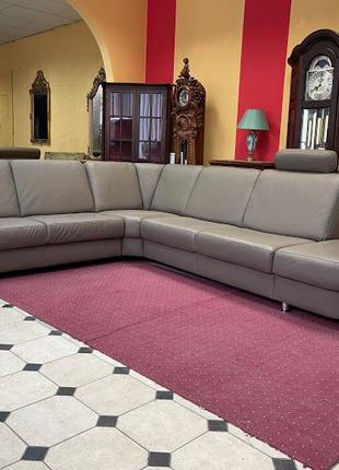 Угловой диван кожаный б/у диван Германия