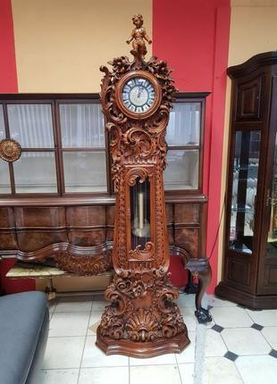 Часы напольный Барокко ручная резьба Италия
