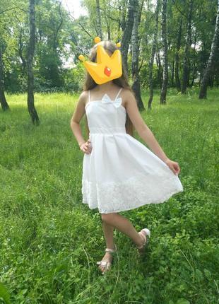 Нарядное выпускное праздничное платье