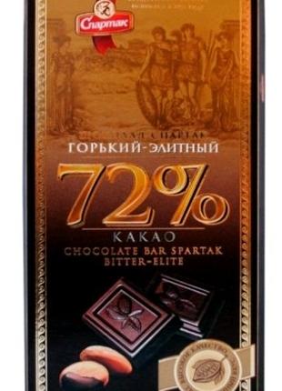 Горький шоколад,,Спартак,, в ассортименте