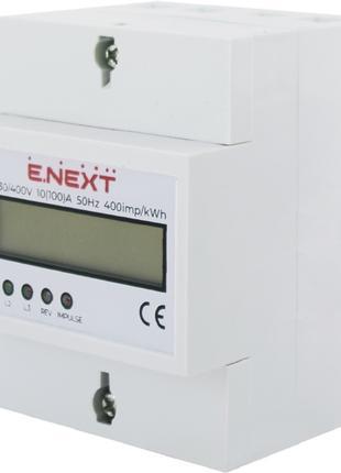 Счетчик трехфазный E.NEXT e.control.w05 5 (100) А электронный ...