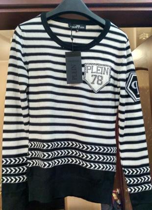 Супер свитер женский philipp plein
