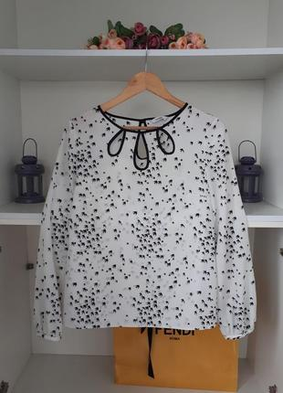 Нарядная блузка шифоновоя george