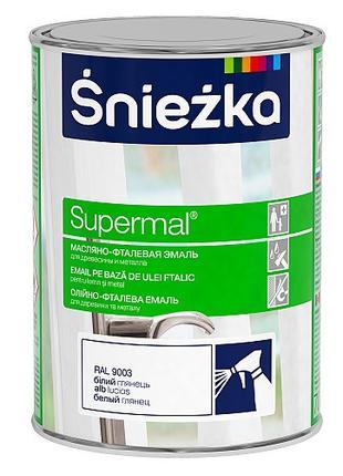 Эмаль для дерева и металла  Śnieżka SUPERMAL® EMALIA OLEJNO - FTA