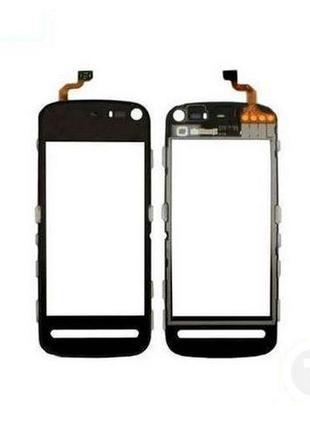 Тачскрин (Сенсор) для Nokia 5800 черный