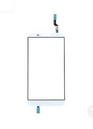 Тачскрин (Сенсор) для LG D800/ D801/ D803/ LS980 Optimus G2 белый