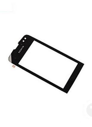 Тачскрин (Сенсор) для Nokia 311 Asha черный
