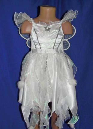 Платье снежинки,феи зимы на 3-5 лет