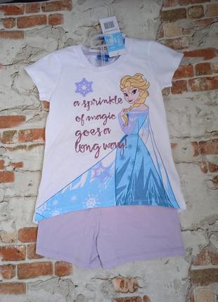Продам пижама для девочки с  эльзой комплект костюм