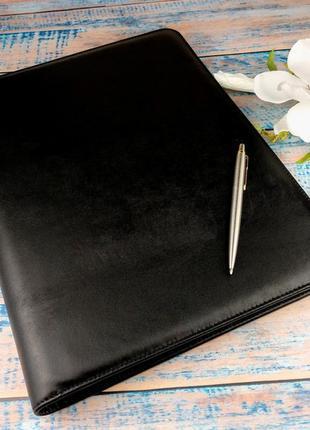 Папка для документов кожаная а4