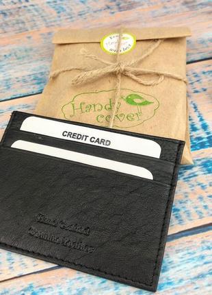 Картхолдер для пластиковых карт кожаный paul rossi