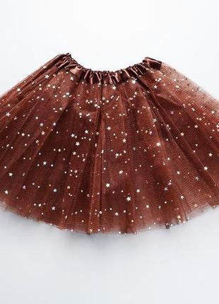 Фатиновая юбка пачка ту ту для танцев, балета
