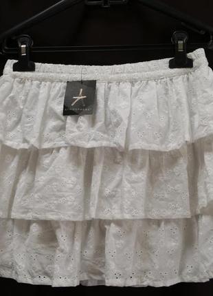 Шикарная кружевная юбка от английского бренда