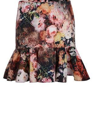Трендовая юбка с воланами от mohito