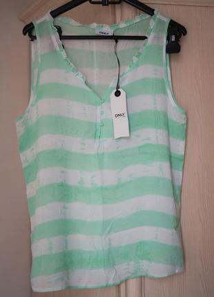 Вискозная майка-блуза от only