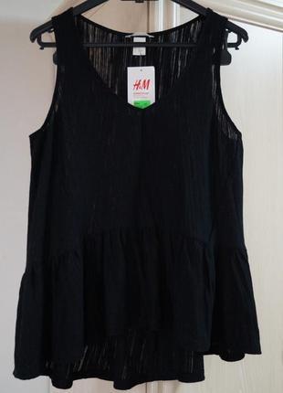 Красивая текстурная блуза от h&m