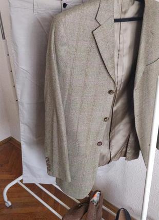 Мужской пиджак burberry