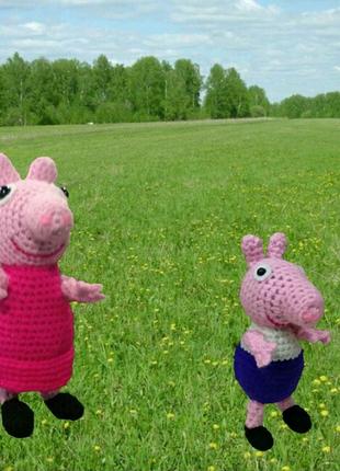 Свинка Пепа и братик Джордж