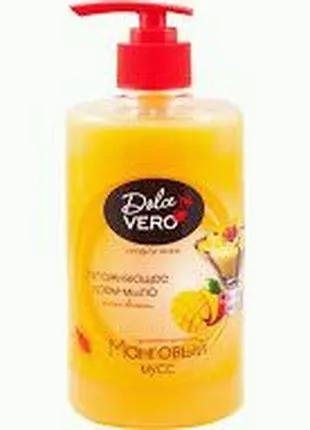 Крем-мыло с приятным ароматом Манговый мусс Dolce Vero 500ml