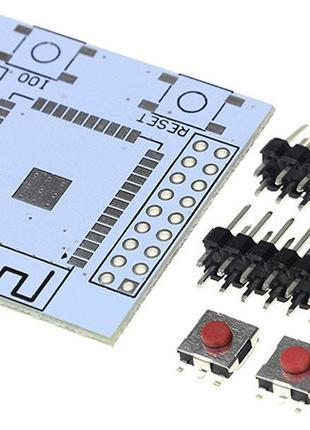 Плата адаптер переходник для ESP-32S DIY (14180)