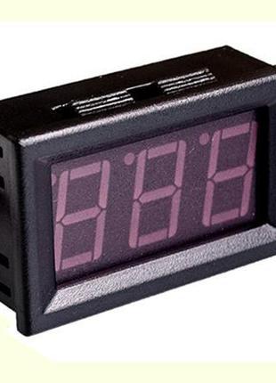 Цифровой встраиваемый вольтметр постоянного тока DC 0-30V (12696)