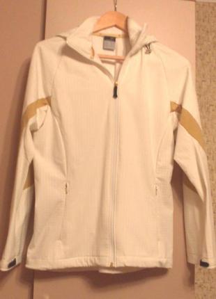 38-40р. спортивная куртка-ветровка с капюшоном