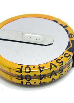 Суперконденсатор ионистор конденсатор 5.5V 4.0F (10257)