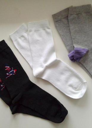 37-39р. цветной комплект носков, цена за 3 пары