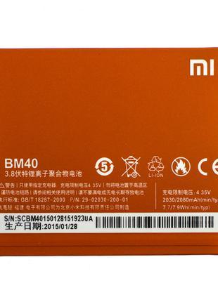 Аккумулятор AAAA-Class Xiaomi BM40 / Mi 2a батарея Xiaomi BM40...