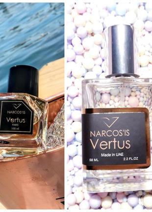 💎👑vertus narcos'is👑💎 арабский тестер 58мл, духи, парфюм, туале...