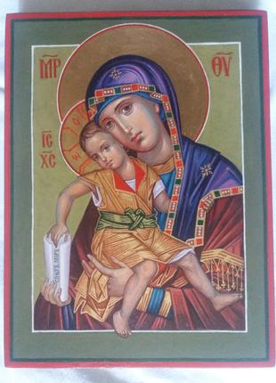 Икона Божией Матери Милостивая Богородица Киккская. Достойно Есть