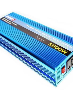 Преобразователь с чистой синусоидой AC/DC 12-220 Powerone 1500...