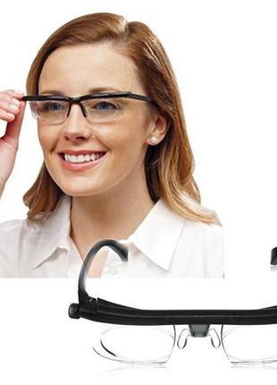 Очки с регулировкой диоптрий линз Dial Vision, универсальные о...