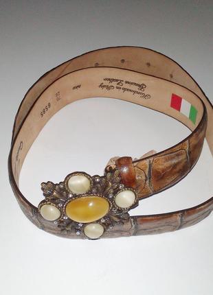 Ремень-пояс женский guido angeloni, италия, оригинал