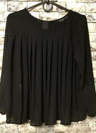 Блузка блузон чорна vero moda