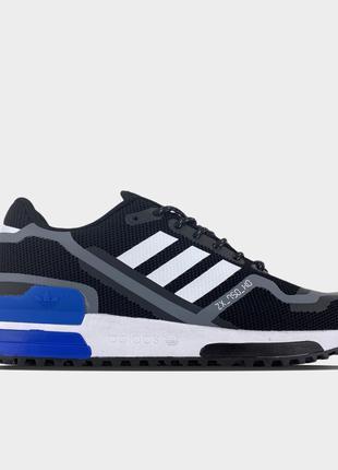 Adidas ZX 750 Black Blue (Черный)