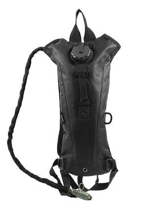 Рюкзак-гидратор питьевая система AOKALI Outdoor B09 3L Black п...