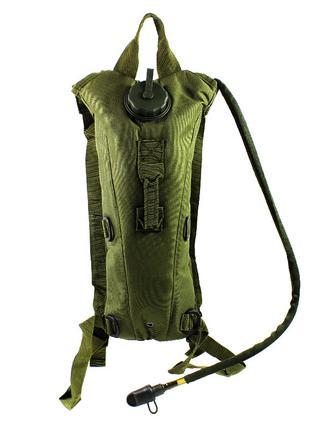 Рюкзак-гидратор питьевая система AOKALI Outdoor B09 3L Army Gr...
