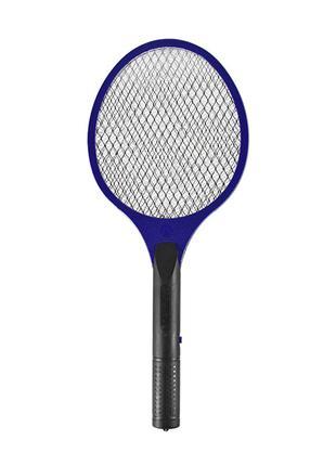 Электрический уничтожитель Lesko LS-005 Blue для мух комаров м...
